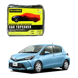 Toyota Vitz Maximus Non Woven Scratchproof Waterproof Car Top Cover - Model 2014-2017-SehgalMotors.Pk