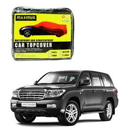 Toyota Land Cruiser Maximus Non Woven Scratchproof Waterproof Top Cover - Model 2007-2015-SehgalMotors.Pk