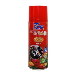 7cF Dashboard Leather and Tire / Tyre Wax 450ml - Rose-SehgalMotors.Pk