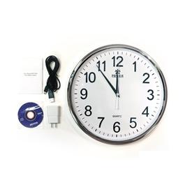 Premium Wall Clock With HIDden Camera - 1080p-SehgalMotors.Pk