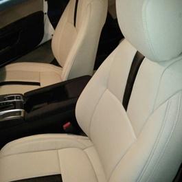 Honda Civic Seat Covers Beige with Single Black Line - Model 2016-2020-SehgalMotors.Pk