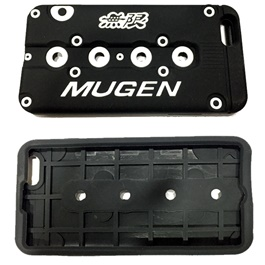 Mugen iPhone 6 Plus PVC Cover Black | Mobile Cover | Protection Cover Case-SehgalMotors.Pk