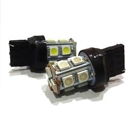 13 SMD Indicator Bulb White Color - Pair   Smd Indicator   Bulb LED Turn Signal Parking Indicator Light-SehgalMotors.Pk