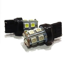 13 SMD Indicator Bulb Red Color - Pair-SehgalMotors.Pk