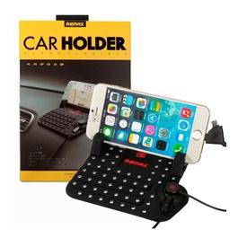 Remax Super Flexible PVC Mobile Holder | Phone Holder | Mobile Holder | Car Cell Mobile Phone Holder Stand-SehgalMotors.Pk