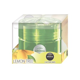 AROMA Car Gel Blister - Lemon Tree-SehgalMotors.Pk