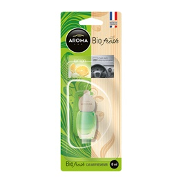 AROMA Bio Fresh Hanging Bottle Car Perfume Fragrance - Lemon-SehgalMotors.Pk