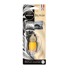 AROMA Bio Fresh Hanging Bottle Car Perfume Fragrance - Black-SehgalMotors.Pk