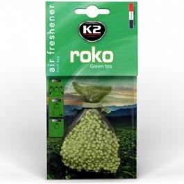 K2 Roko Green Tea Grill Car Perfume Fragrance - 20 G-SehgalMotors.Pk