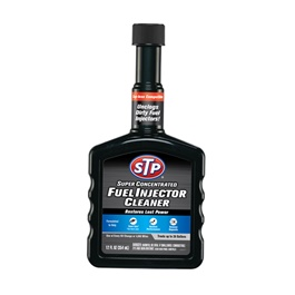 STP Super Concentrated Fuel Injector Black - 12 Oz  To Keep The Engine Working | Cleaning Agent Restore Performance | Increase Power Oil Fuel Additive-SehgalMotors.Pk