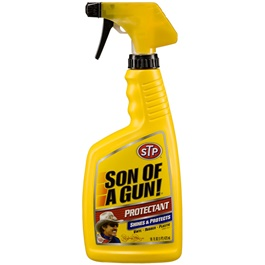 STP Son of Gun Protectant - 16 Oz | Dashboard Cleaner | Car Cleaning Product | Protect Interior | Car Care | For Interior Shining-SehgalMotors.Pk