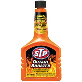 STP Octane Booster - 12Oz | Improve Octane | Resistant oxidation | Stable gas quickly | Clean gas | Contribute burning-SehgalMotors.Pk