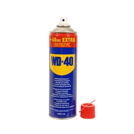 WD40 Anti-Rust Lubricant , Penetrating Oil and water-displacing spray - 440ml-SehgalMotors.Pk