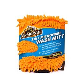 Armor All 2 in 1 Microfiber Noodle Wash Mitt | Microfiber Car Wash Sponge | Noodle Washmitt | Super Long Pile Microfibre-SehgalMotors.Pk
