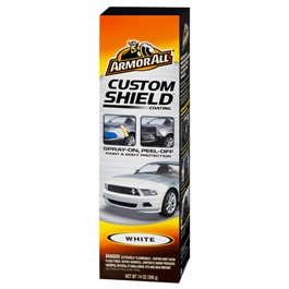 Armor All Custom Shield White - 14 oz | Custom Shield Coating Aerosol | Defend Against Paint Chips And Scratches | Protect Against Bugs, Dirt And Road Debris-SehgalMotors.Pk