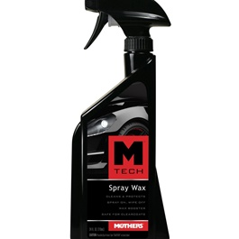 Mothers M-Tech Spray Wax - 24oz | ShinIng Look | Polsih Spray | Slick Shine Look | Cleaner Wax | Formulated Color Enhancers-SehgalMotors.Pk