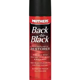 Mothers Back to Black Trim & Plastic Restorer - 10oz-SehgalMotors.Pk