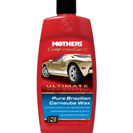Mothers Pure Brazilian Carnuba Wax Liquid - 16oz | Car Polish | Liquid Polish | Best Wax | Car Care Product | Best Polish | Car Cleaning Agent | Polish For Car Body | Easy Operation For Caring And Maintenance Clean | Hydrophobic-SehgalMotors.Pk
