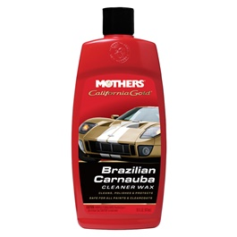Mothers California Gold Cleaner Wax Liquid - 16oz-SehgalMotors.Pk