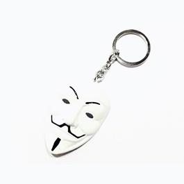 Vendetta Key Chain / Key Ring - White | Key Chain Ring For Keys | New Fashion Creative Novelty Gift Keychains-SehgalMotors.Pk