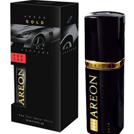Areon Car Perfume Fragrance Gold Fragrance - 50ml | Long Lasting-SehgalMotors.Pk