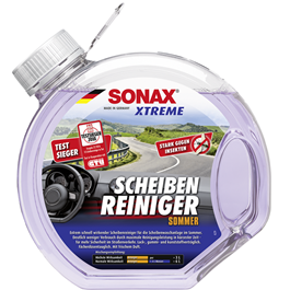 Sonax Xtreme Wind Screen Wash Cleaner - 3Ltr | Glass Cleaner | Protect Windshield | WIndshield Cleaner | Windshield Glass Water | Windshield Washer Fluid-SehgalMotors.Pk