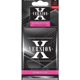 Areon X Version Card Bubble Gum Car Perfume Fragrance Air Freshener -SehgalMotors.Pk
