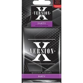 Areon X Version Card Party Car Perfume Fragrance Air Freshener -SehgalMotors.Pk