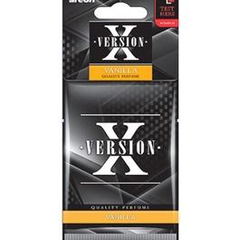 Areon X Version Card Vanilla Car Perfume Fragrance Air Freshener -SehgalMotors.Pk