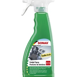 Sonax Cockpit Spray Vanilla Fresh - 500ML | Dust Repellent | Scent Cleaner | | Dashboard Cleaner | Car Cleaning Product | Protect Interior | Car Care | For Interior Shining-SehgalMotors.Pk