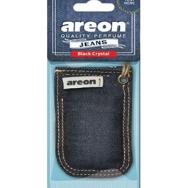 Areon Jeans Bag Black Crystal Car Perfume Fragrance Air Freshener -SehgalMotors.Pk