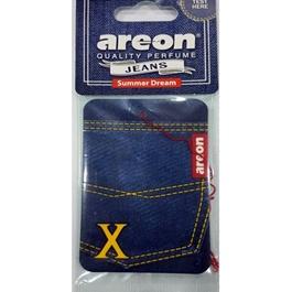 Areon Jeans Card Summer Dream Car Perfume Fragrance Air Freshener -SehgalMotors.Pk