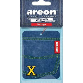 Areon Jeans Card Tortuga Car Perfume Fragrance Air Freshener -SehgalMotors.Pk