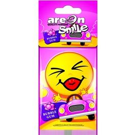 Areon Dry Smile Bubble Gum Car Perfume Fragrance Air Freshener -SehgalMotors.Pk
