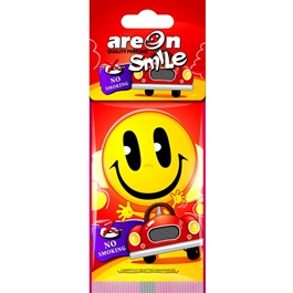 Areon Dry Smile No Smoking Car Perfume Fragrance Air Freshener -SehgalMotors.Pk