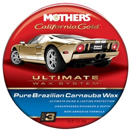 Mothers Natural Formula Wax - Paste 12 OZ  | Paint Care Waterproof Coating Soft Wax | Car Crystal Hard Wax | Anti Fade Ultraviolet Proof Polishing | Polish For Car Body | Easy Operation For Caring And Maintenance Clean | Car Polishing Body Solid Waterproof Wax | Car Polish | Car Care Product | Coating Car Wax | Coating Paste-SehgalMotors.Pk