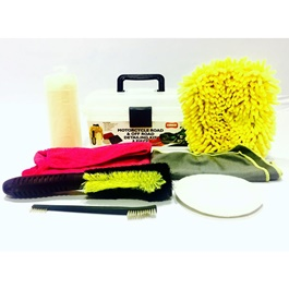 Motorcycle Road and Off Road Detailing Kit 8 Piece-SehgalMotors.Pk