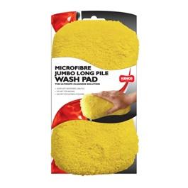 Kenco Microfiber Jumbo Long Pile Wash Pad | Microfiber  Wash Mitt | Microfiber Car Wash Sponge | Washmitt Pad-SehgalMotors.Pk
