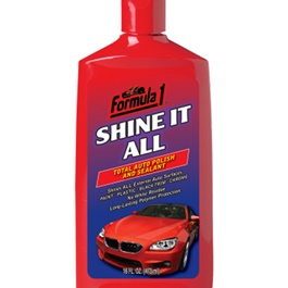 Formula 1 Shine It All Polish and Sealant | No Powdery Residue Dries Clear With Little Buffing | | Car Polish | Liquid Polish | Best Wax | Car Care Product | Best Polish | Car Cleaning Agent |  Polish For Car Body | Easy Operation For Caring And Maintenance Clean |  Hydrophobic -SehgalMotors.Pk