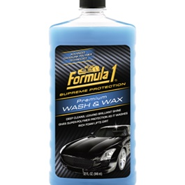 Formula 1 Premium Wash & Wax | Car Shampoo | Car Cleaning Agent | Car Care Product | 2 in 1 Product | Glossy Touch Shampoo | Mirror Like Shine-SehgalMotors.Pk