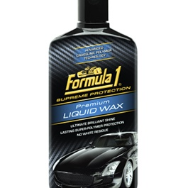 Formula 1 Premium Liquid Wax | Solid Car Wax Protection Waterproof | Polish For Car Body | Easy Operation For Caring And Maintenance Clean | Car Polishing Body Solid Waterproof Wax | Car Polish | Car Care Product |  Car Wax | Coating Paste Wax-SehgalMotors.Pk