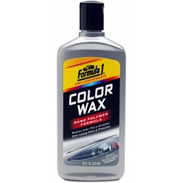 Formula 1 Color Wax - Silver | Wax Dedicated Refurbishing Agent Cleaner Coating Polishing Protection Paint Care | Polish Paint Care Coloring Agent Stain Wax