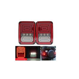 Wrangler Jeep Tail Lamps Back Lamps LED Lights-SehgalMotors.Pk