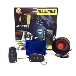 Maximus Car Alarm System Jack Knife Curve Universal-SehgalMotors.Pk