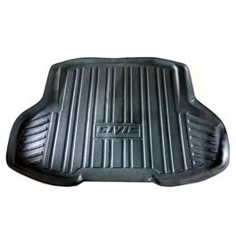 Honda Civic 5D Trunk Mat - Model 2011-2013 | Trunk Boot Liner | Cargo Mat Floor Tray | Trunk Protection Mat | Trunk Tray Cover Pad-SehgalMotors.Pk
