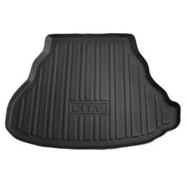 Honda City 5D Trunk Mat - Model 2008-2020 | Trunk Boot Liner | Cargo Mat Floor Tray | Trunk Protection Mat | Trunk Tray Cover Pad-SehgalMotors.Pk