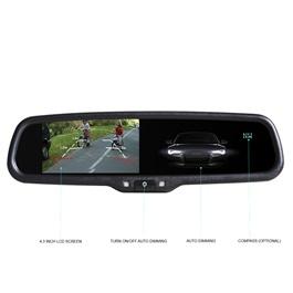 Rear View DVR (Digital Video Recorder) Mirror Backup Camera-SehgalMotors.Pk