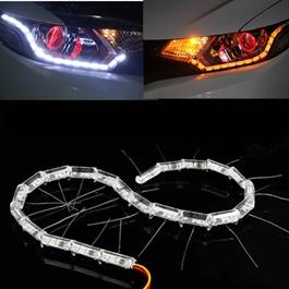 Crystal LED DRL Flexible Light-SehgalMotors.Pk