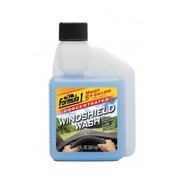 Formula 1 Windshield Wash 237ML | Glass Cleaner | Protect Windshield | WIndshield Cleaner | Windshield Glass Water | Windshield Washer Fluid
