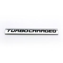 Turbo Charged Emblem   Decal   Monogram   Logo